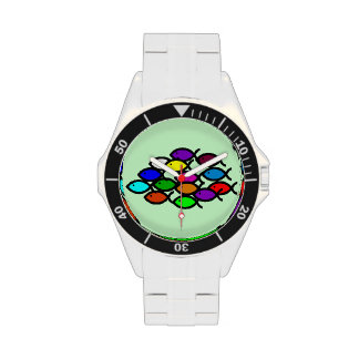 Símbolos cristianos de los pescados - escuela del relojes de mano