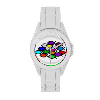 Símbolos cristianos de los pescados - escuela del relojes de pulsera