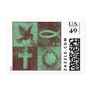 Símbolos cristianos sellos