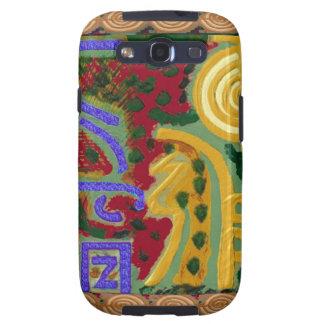 Símbolos curativos de Reiki del artista Canadá de Galaxy S3 Carcasa