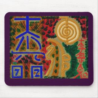 Símbolos curativos principales de REIKI Mouse Pad