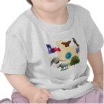 Símbolos de estado de Tejas Camiseta