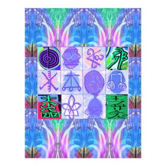 Símbolos de KARUNA Reiki: Representación artística Membrete Personalizado