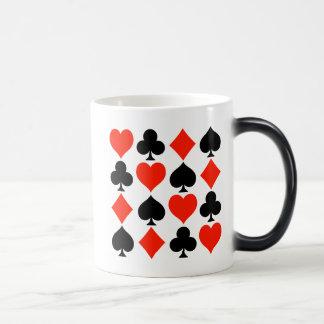 Símbolos de la tarjeta clásicos taza mágica