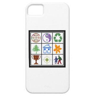 SÍMBOLOS de los clientes de los revendedores de la iPhone 5 Case-Mate Protectores