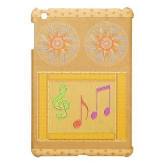 Símbolos de música de baile en hoja de ORO