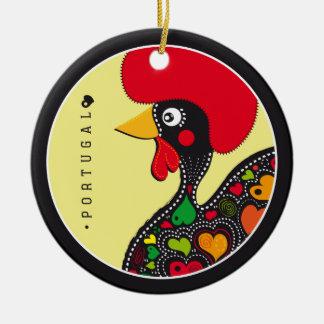 Símbolos de Portugal - gallo Adornos De Navidad