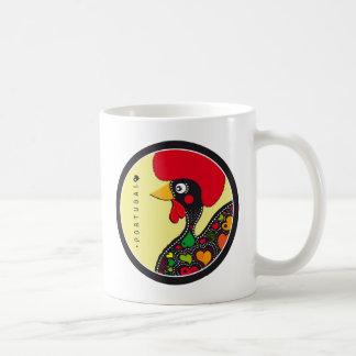 Símbolos de Portugal - gallo Taza