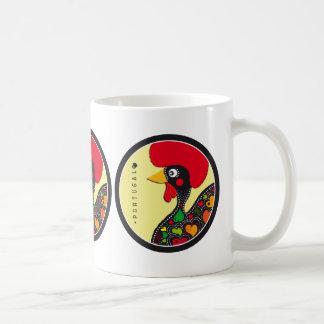 Símbolos de Portugal - gallo Taza De Café