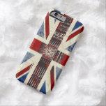Símbolos de Reino Unido Funda De iPhone 6 Barely There