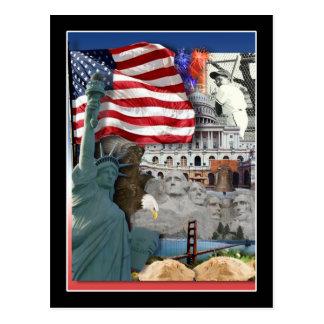 Símbolos del americano de los E.E.U.U. Postal