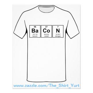"Símbolos del elemento de tabla periódica del folleto 4.5"" x 5.6"""