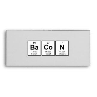 Símbolos del elemento de tabla periódica del tocin