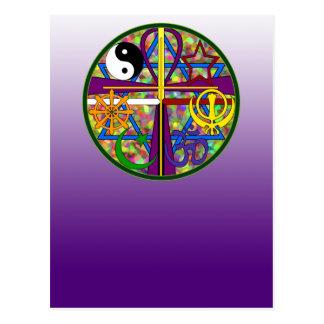 Símbolos del espiritual de la unidad postal