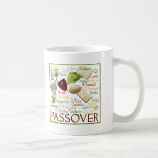 Símbolos del Passover Taza De Café