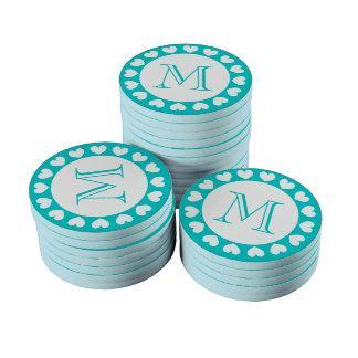 Símbolos del personalizado de las fichas de póker  fichas de póquer