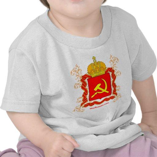 Símbolos del ruso del molot de Serp i Camisetas