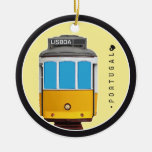 Símbolos del tranvía de Portugal - de Lisboa Adornos De Navidad