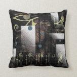 Símbolos egipcios almohada