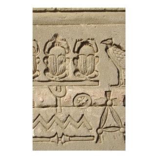 Símbolos egipcios antiguos  papeleria