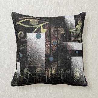 Símbolos egipcios cojines
