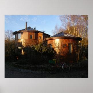 Símbolos espirituales (comunidad de Findhorn) Póster
