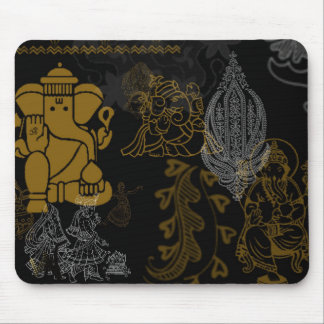 símbolos indios, alfombrillas de ratones