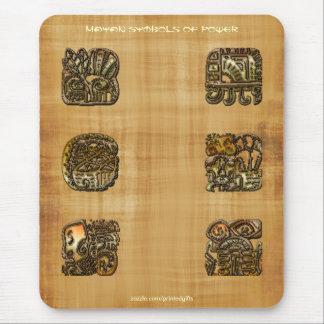 Símbolos mayas del poder en el papiro Mousepad
