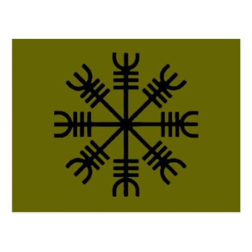 Símbolos paganos postales
