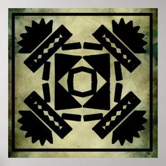 Símbolos sagrados culturales posters