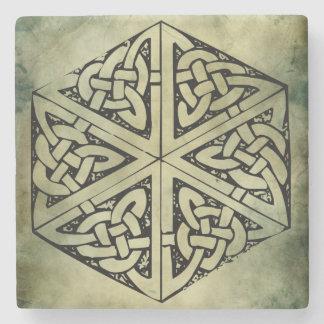 símbolos sagrados irlandeses célticos posavasos de piedra