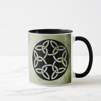 símbolos sagrados irlandeses célticos taza