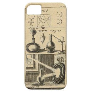 Símbolos y herramientas de un alquimista funda para iPhone 5 barely there