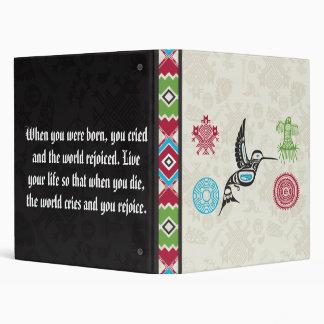 """Símbolos y sabiduría - colibrí del nativo carpeta 1"""""""