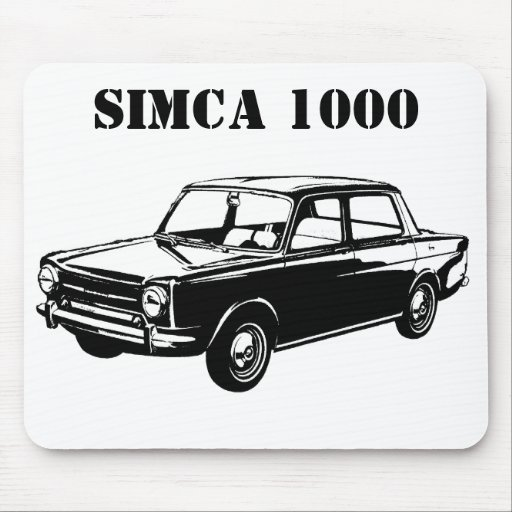 SIMCA 1000 MOUSE PAD