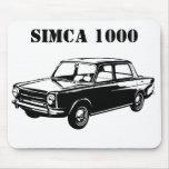 SIMCA 1000 TAPETES DE RATON
