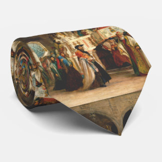 Simchat Torah by Solomon Hart - Circa 1850 Tie