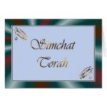 Simchat Torah Jewish Holiday Chag Sameach Card