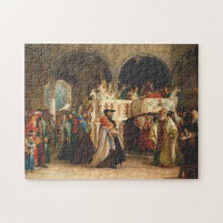 Simchat Torah por el ciervo de Solomon - circa Puzzle