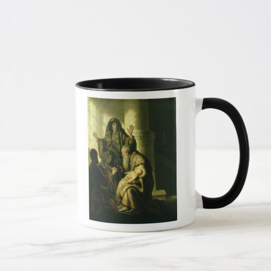 Simeon and Hannah in the Temple, c.1627 Mug