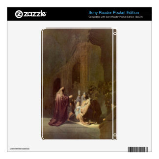 Simeon in the temple by Rembrandt Sony Reader Decal
