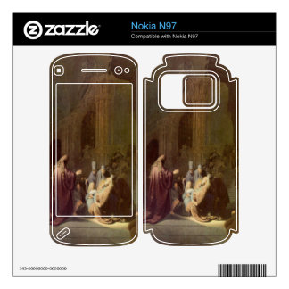 Simeon in the temple by Rembrandt Decal For Nokia N97