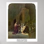 Simeon�S Song Of Praise By Rembrandt Van Rijn Posters