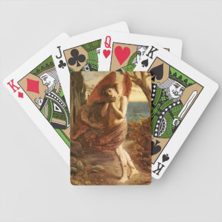 Simeon Solomon: Love in Autumn Bicycle Playing Cards
