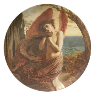 Simeon Solomon: Love in Autumn Dinner Plate