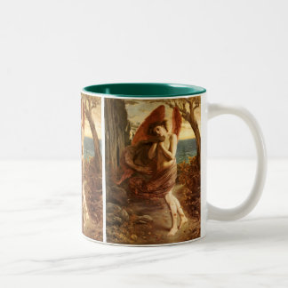 Simeon Solomon: Love in Autumn Two-Tone Coffee Mug
