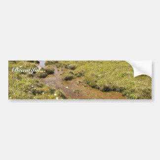 Simeonof island bog bumper sticker