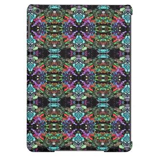 Simetría abstracta colorida funda para iPad air