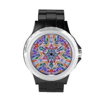 Simetría cristalina (reloj del diamante