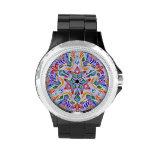 Simetría cristalina (reloj del diamante artificial